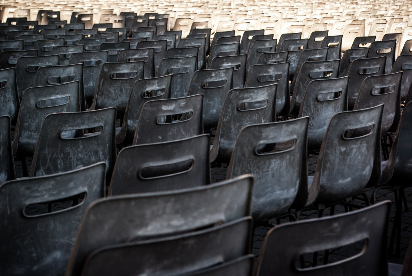 Lightroom Test 05 – Chairs that the Pope Left Us